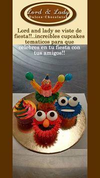 Cupcakes para fiestas infantiles ¡Baratisimos!. Pedidos, contacto, información al celular: 3013588405
