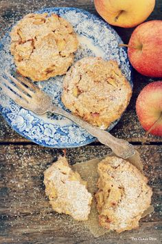 FRESH APPLE Cinnamon Cookies {grain free, gluten free, refined sugar free, dairy free}