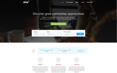 Elioplus new design: Connecting software and SaaS companies that offer partner programs with resellers in order to penetrate into new markets
