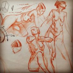 5 min Figure Drawing Quick-Sketch Demonstration page at Art Mentors. Talking about how to let the line-work breathe and have atmospheric perspective, as in a landscape. September 12, 2016 at 1239AM.jpg