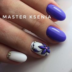 Hot Trendy Nail Art Designs that You Will Love Trendy Nail Art, Stylish Nails, Fabulous Nails, Gorgeous Nails, Hot Nails, Hair And Nails, Fancy Nails, Purple Nails, Beautiful Nail Art