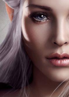 Face of a fairy