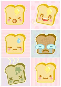 Toast: A study by ~milkbun on deviantART