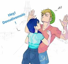 Read Cómic Adrianette from the story Cómics de Miraculous Ladybug by Ladydrakula with reads. Ladybug Comics, Ladybug Anime, Miraclous Ladybug, Ladybugs, Ladybug Tikki, Tikki Y Plagg, Miraculous Ladybug Kiss, Mlb, Adrien Y Marinette