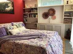 Romantic bedroom with french touch Feather, Romantic, Touch, French, Bedroom, Decoration, Furniture, Home Decor, Room