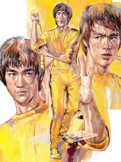 "A Great Tribute to The Man "" Bruce Lee'"