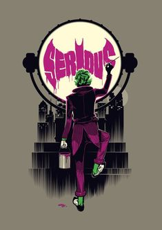 Why so serious #comicart