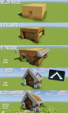 r/Minecraft – How to transform every block house in 4 easy steps! - Minecraft World 2020