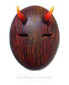 Demon Wood Mask by Bueshang