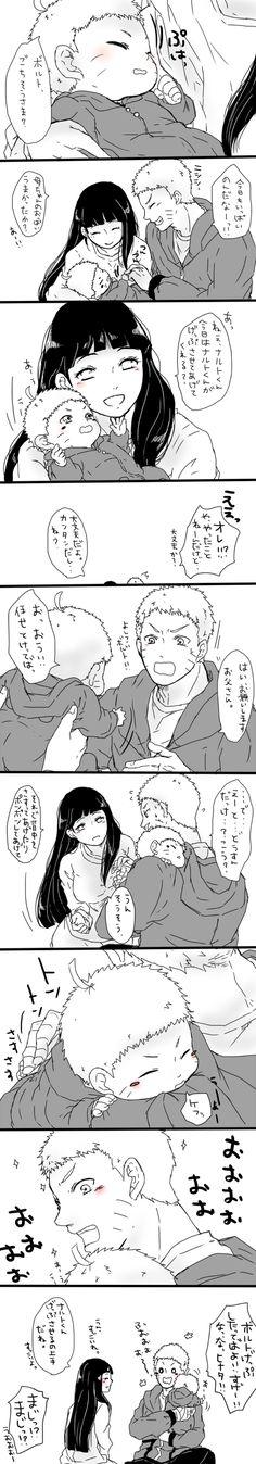 Uzumaki Family (with baby Bolt!!)