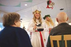 Sweden celebrates its favourite Italian Catholic saint on December Don't say these things to the Swedes on this beloved winter holiday. The Swede, Catholic Saints, Christmas Traditions, Winter Holidays, The Locals, Traditional, Celebrities, Sweden, Advent Calendar