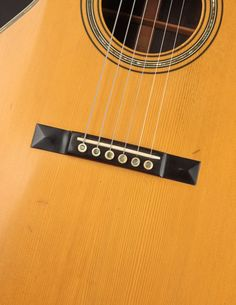 This Martin 00-30 from 1903 has a quality of tone that is purely sublime, combining the best aspects of steel and gut into one magical instrument. Martin Acoustic Guitar, Small Bridge, Silver Plate, Instruments, Plating, Good Things, Pearls, Steel, Accessories