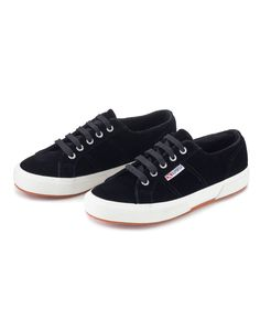 Superga offers chic casual footwear that you will love wearing, perfect to complete any stylish off duty look. Now in fabulous on trend shades and in luxurious velvet, they are the must have shoe of the season.