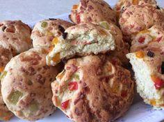 Νηστίσιμη συνταγή: Ελιοπιπεροψωμακια με σιμιγδάλι Muffin, Cooking, Breakfast, Food, Kitchen, Morning Coffee, Essen, Muffins, Meals
