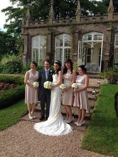 St Audries Park Wedding - Group Shot
