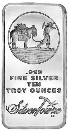 Buy Now: http://goccf.com/jmb/10-oz-silvertowne-silver-bar/  Silvertowne Prospector Silver Bars, 10 oz silver bars, 2015 1 Oz Mexican Silver Libertad on Sale - Coin Community Forum