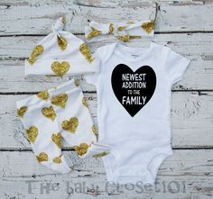 This perfect outfit for your family's newest addition. | 19 Coming Home Outfits You Need For Your Newborn