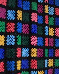 Simple Stash-Buster Granny Throw Crochet Pattern
