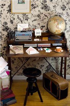I want my house to look like Mr. Boddington's studio.