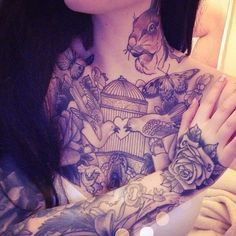 This stunning tattoo is by Antony Flemming.