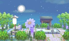 town-of-flowers: Zen park completed!