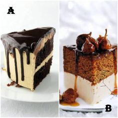 A or B? Which one will make your Friday night delicious? Order cakes on http://www.indiacakes.com/