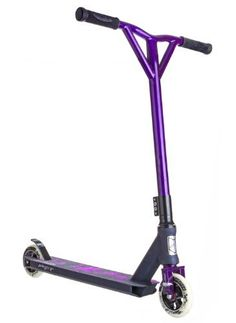 Grit Mayhem Pro Scooter (Black/Purple) by Grit Scooters. Save 28 Off!. $179.99. Our flagship model pro scooter, the Grit Mayhem Pro Scooter is street tested and top rider approved. Whatever your style or discipline, this bad boy is at home in the park, on the street, or off the ramps. The Grit Mayhem Pro Scooter is a top of the line pro scooter that will never let you down.