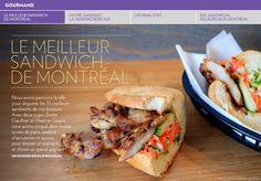 Le meilleur sandwich de Montréal - La Presse+ Halloumi, Charcuterie, Sandwich Au Porc, Restaurant Montreal, Organize, Restaurants, Cooking, School, Ideas