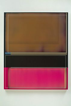 "Patrick Wilson @ Susanne Vielmetter. Brown Deluxe, 2008, Acrylic on canvas, 59"" x 49"""