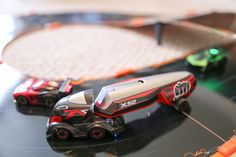 Anki Overdrive keeps on truckn Anki is adding large semi-trucks to its Overdrive game. This is clearly an attempt to breath new life into the platform. And it works. The Supertrucks as theyre called add a new type of game mode and a bit of variety to the race car game.  This is the first major update to Ankis second generation game. The company launched its first game called Drive in 2013 and followed that up with Overdrive in 2015. The core concept between the two games are the same…