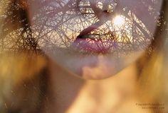 Double Exposure Self Portrait by PinchOfPixelDust on deviantART