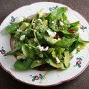 Healthy Green Kitchen Arugula Salad with Pomegranate, Avocado and Goat Cheese » Healthy Green Kitchen