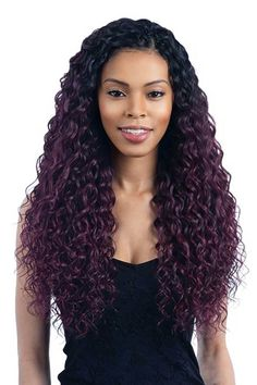 Crochet braids 506092076876355165 - Enjoy a soft deep wave crochet braid style with the Freetress Synthetic Crochet Braiding Hair Super Italian Curl. It's very lightweight, placing less tension on your natural hair. Box Braids Hairstyles, Curly Braids, Long Box Braids, Milkmaid Braid, Braided Updo, Fishtail Bun, French Fishtail, Curly Hair Styles, Natural Hair Styles