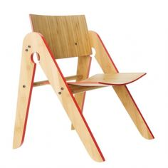 Chaise enfant Lilly - Rouge 145 €