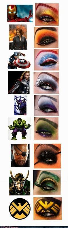 Funny but Mostly for Women Geeks |  Eye-Vengers Scott Cramer - Google+