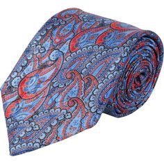 Ermenegildo Zegna Paisley-Pattern Neck Tie Sale up to 70% off at Barneyswarehouse.com