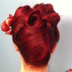 Blonde must wait until summer, so red I am again.