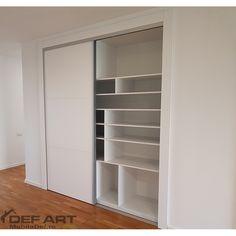 Mobila dressing alb Closet, Home Decor, Homemade Home Decor, Closets, Cabinet, Interior Design, Home Interiors, Decoration Home, Closet Built Ins