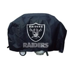Long story made short...stopped to pick up some cans along the road and found this NFL Oakland Raiders Deluxe Grill Cover crumpled up.  Took it home, cleaned the s~~t out of it, noticed that it had NO holes and now my son's grill looks just like this picture!!!!  True story.  Thank you, Lord.