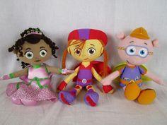"RARE Super Why Plush Lot 8"" Tall Princess Presto Wonder Red Alpha Pig | eBay"