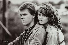 """Kevin Bacon y Lori Singer en """"Footloose"""", 1984"""