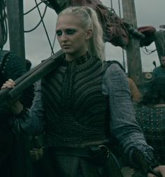 Torvi is now an official Shield Maiden! Vikings Season 4