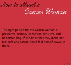 How a cancer woman attracts scorpio man