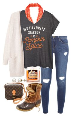 """""""Untitled #258"""" by valerienwashington on Polyvore featuring Intimately Free People, Frame Denim, LC Trendz, L.L.Bean, Honora and Louis Vuitton"""