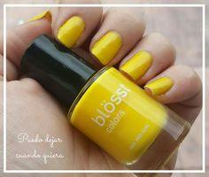 Esmalte amarillo blosst