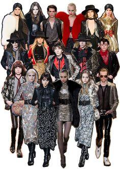 #SaintLaurent #HediSlimane / The Fashion Sundae
