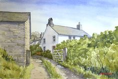 How to Paint a Rural Scene in Watercolour by BobDavies