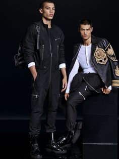 Here's the Entire Balmain x H&M Collab Look Book | GQ