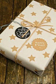 Geburtstagsgeschenke Verpacken
