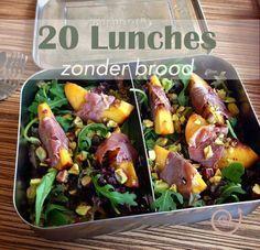 20 Lekkere lunchbox ideeën zonder brood - Brndstf.nl
